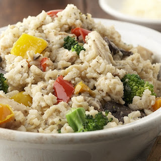 Slow Cooker Risotto Primavera with Chicken