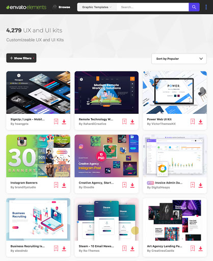 UX/UI Kits to Speed Up Your Design Process
