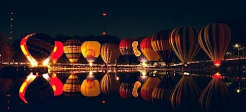Photo: Last night was Cincinnati night glow, it was very beautiful see all the balloons