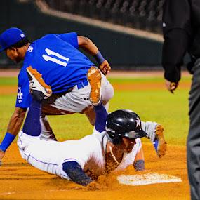 Safe at Third by John Roberts - Sports & Fitness Baseball