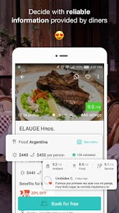 Restorando: Restaurants Bars Reservations Offers- screenshot thumbnail