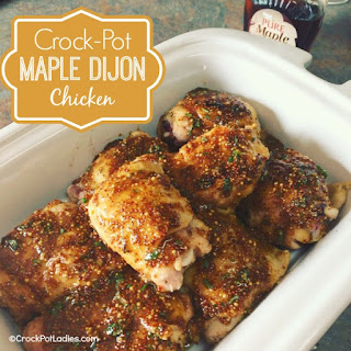 Crock-Pot Maple Dijon Chicken Recipe