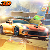Extreme Car Racing Game on Air impossible Tracks