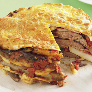 Sausage and Potato Tortilla Bake