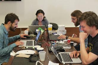 Photo: Happy hackers!