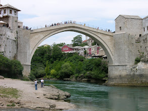 Photo: The famous Old Bridge of Mostar