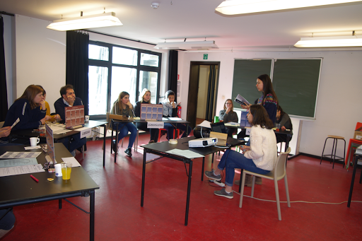 Training session for youth in Brussels