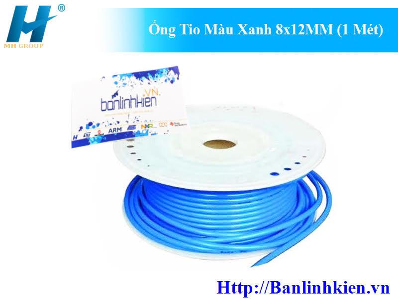 Ống Tio Màu Xanh 8x12MM (1 Mét)