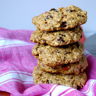 Loaded Vegan Breakfast Cookies (gluten free!).
