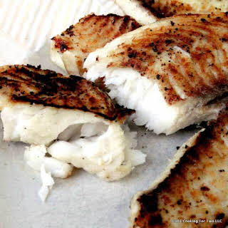 Grilled Lemon Butter Tilapia.