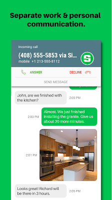 Sideline – Second Phone Number - screenshot