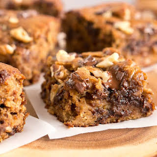 Banana Walnut Brownies.