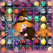 witch puzzle match game
