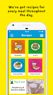 Change4Life Smart Recipes- screenshot thumbnail
