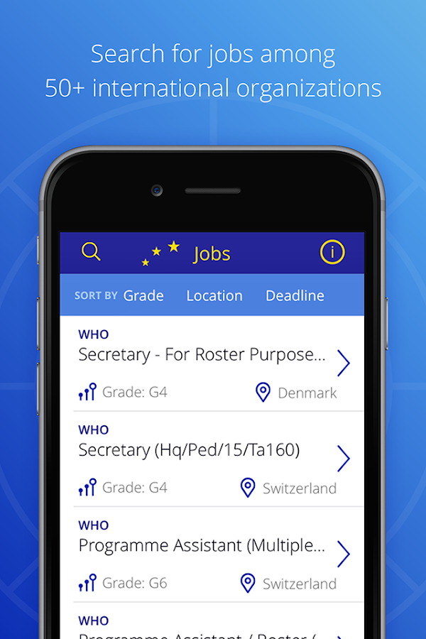 Interjob - the job finder- screenshot