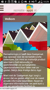 Recreatie-App - náhled
