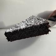 cake — chocolate + olive oil