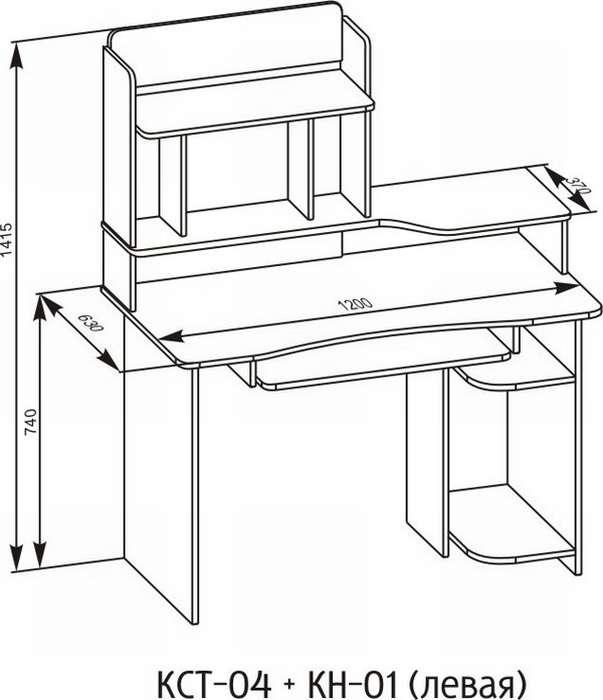модный компьютерный столик своими руками