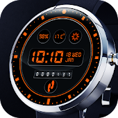 Dashboard Digital Watch Face