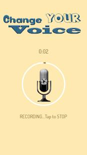 Měnič Hlasu Zvukové Efekty - náhled