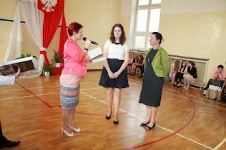 Photo: Zakończenie roku szkolnego klas III wyróżnieni uczniowie