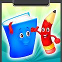 School Coloring Book icon