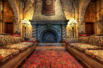 """Photo: The Fireplace in the Tower of Terror Just a few days ago, I got into this place... I've always wanted to get """"behind the velvet rope"""" and take proper photos of this area, and it finally happened!  This lobby was richly decorated to look like an old, classic Hollywood hotel that has been left alone to slowly deteriorate. Although this angle in particular does not show the decay, future ones will... Also, a future one will include the full story of how I got behind the velvet rope -- you won't believe it!  Thanks for the day go to +Keith Barrett +Robert Scoble +Thomas Smith and +Lou Mongello   To see more about Lou, see the full blog post at http://www.stuckincustoms.com/2011/07/13/the-fireplace-in-the-tower-of-terror/"""