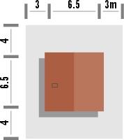 Domek 9 - Sytuacja
