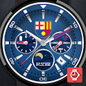 Barcelona Pulse watch face icon