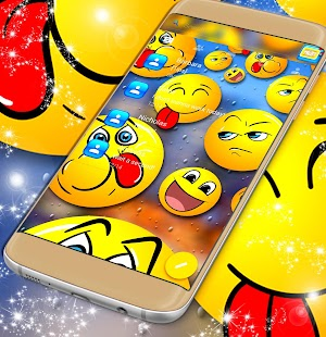 SMS klávesnice Emojis - náhled