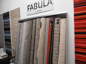 Photo: Fabula rugs are fabulous. May be showing in the U.S. soon. Denmark. www.fabula-living.dk #ambiente14