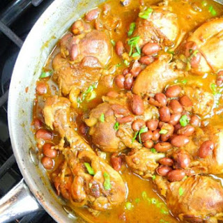 Caribbean Stewed Chicken With Red Beans Recipe..