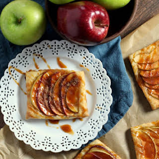 Caramel Apple Puff Pastry Recipes.
