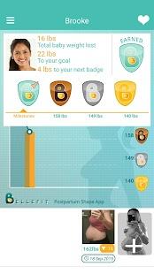 Bellefit Postpartum ShapeApp® - náhled