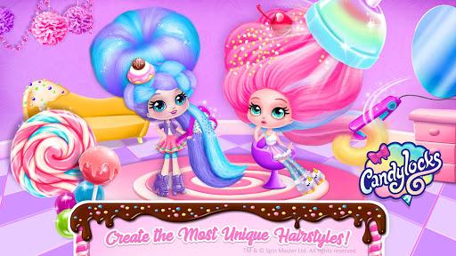 Candylocks Hair Salon - Style Cotton Candy Hair  Wallpaper 3