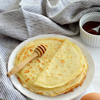Easy French crepes.