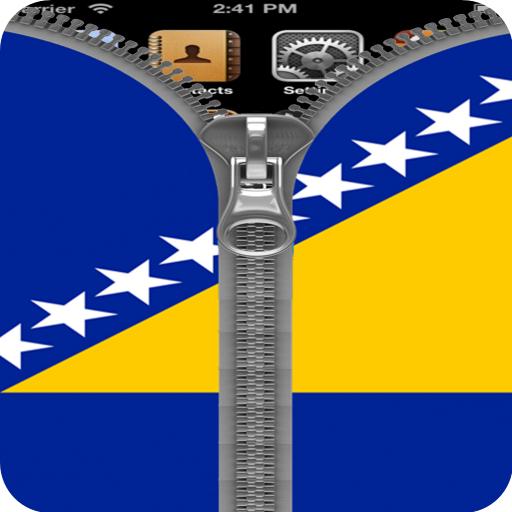 Bosnia and Herzegovina Flag ZP