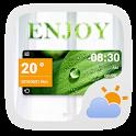 Enjoy GO Weather Widget Theme icon