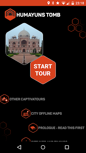 Humayun's Tomb Audio Guide