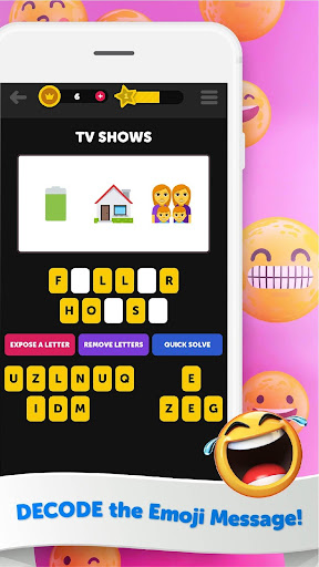 Guess The Emoji - Trivia and Guessing Game! 9.39 Screenshots 1