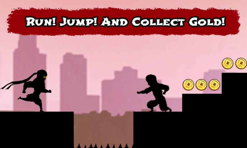android Shadow Ninja Game Screenshot 2
