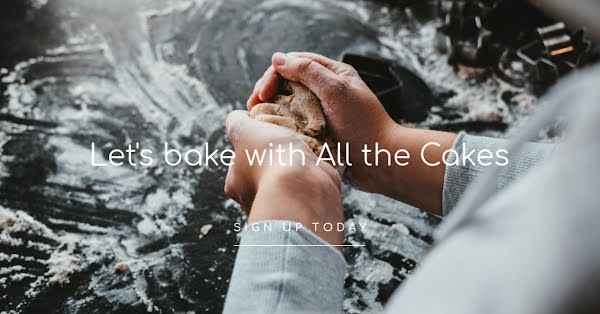 Bake with All the Cakes - Facebook Ad Template