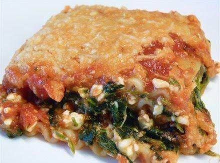 Spinach Lasagna Recipe