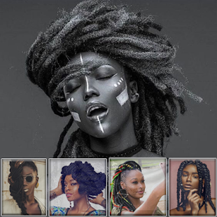 Black Women Dreadlocks Hairstyles - náhled