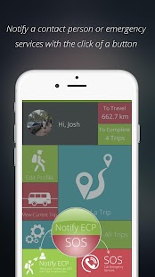 SafeTraveller screenshot