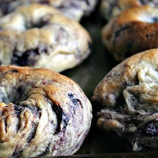 NY style Blueberry Bagels