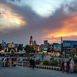 by Mohsin Raza - City,  Street & Park  Street Scenes