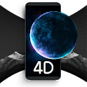 3D Live Wallpapers & 4K Backgrounds - Walloop 4D icon