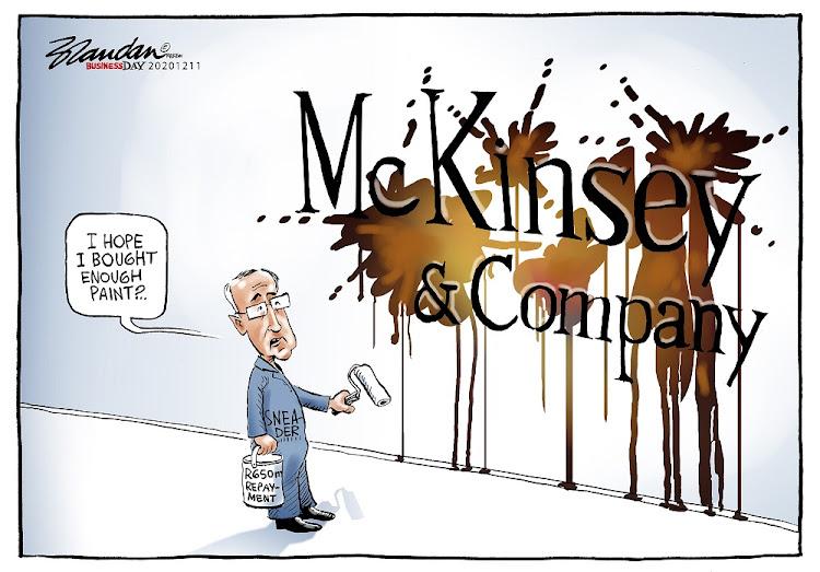 CARTOON: Nice try, McKinsey