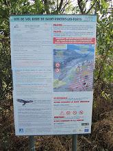 Photo: Saint Vincent les Forts Site Sign